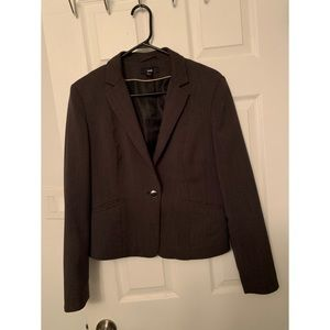 Dark Brown Work Blazer